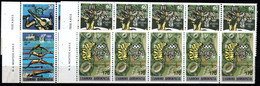 22.GREECE.1989 OLYMPIC GAMES,IMPERF.X PERF.HELLAS 1825A-1828A,1825B-1828B,VERY FINE MNH BOOKLET PANE OF 5 - Non Classés