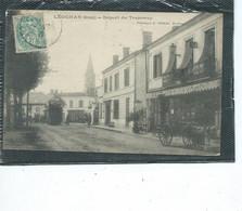 33-LEOGNAN-Beau Plan Animé Du Départ Du TRAMWAY - Other Municipalities