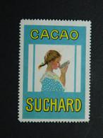 Reklamemarke Vignette Cacao Cocoa Kakao Suchard  Schweiz Suisse Switzerland - Erinofilia
