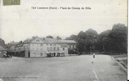27 LOUVIERS . PLACE  DU CHAMP  DE VILLE - Louviers