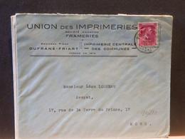 91/210 LETTRE BELGE FRAMERIES - Belgio