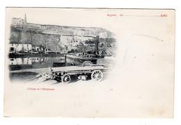 CPA Précurseur Avant 1900 Agen Lot Et Garonne 47 Côteau De L' Ermitage Bateau Péniche Port - Agen