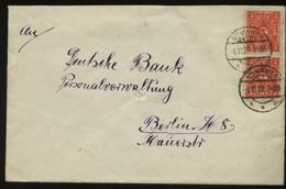 S0538 DR Infla MeF 2 X Firmen Brief :gebraucht Nowawes - Berlin 1922, Bedarfserhaltung. - Brieven En Documenten