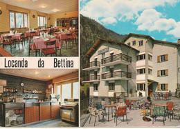 N°6399 R -cpsm Locanda Da Bettina -Branzi- - Hotels & Gaststätten