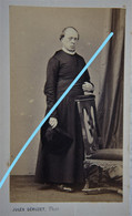 ABL CDV AUMONIER Limbaerts 1862 Belgische Leger Armée Belge Belgian Army Photographe GERUZET Bruxelles - Old (before 1900)