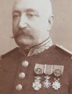 ABL CDV Officier Médailles Vers 1875 Belgische Leger Armée Belge Belgian Army Photographe Van Crewel Antwerpen - Foto
