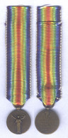 Médaille Interalliée ( Miniature ) - France