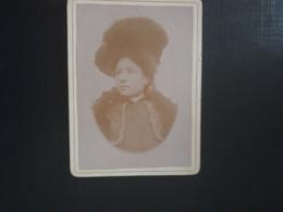 Authentique Ancienne Cdv Vers 1880.portrait D Une Femme. PHOTOGRAPHE Félix MIEGEVILLE. VETDUN TARN ET GARONNE - Alte (vor 1900)