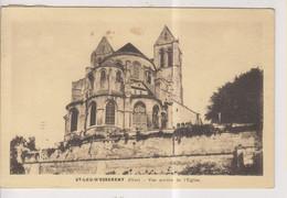 CPA-60-Oise- ST-LEU-D'ESSERENT- Vue Arrière De L'Eglise- - Frankrijk