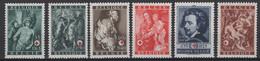 Belgique: 1944. COB : 647/52, **, MNH - Nuovi