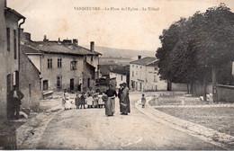 CPA  Vandoeuvre, La Place De L'Eglise, Le Tilleul, Animée, Groupe D'enfants - Nancy