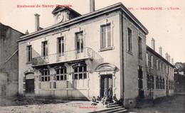 CPA  Vandoeuvre, L'Ecole, Animée - Nancy