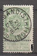 N° 56 OBLITERATION  GAND STATION - 1893-1907 Stemmi