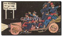 CPA Fantaisie Militaria La Classe Automobile - Humorísticas