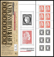 France 2019 - Yv N° C1526 ** - Carnet CÉRÈS - 73e Salon Philatélique D'Automne  (timbres 5253 - 5359 - 5360 - 5361) - Nuevos