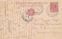 Porto Mantovano Frazionario 35-65 Del 1916 - Marcofilie