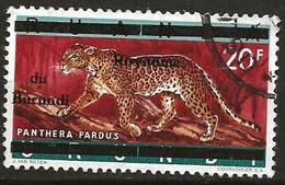 Burundi  N°23 Panthère - 1962-69: Usati
