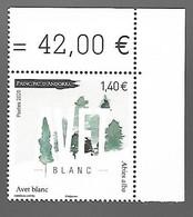 Andorre 2020 - Avet Blanc ** (sapin) - Nuevos