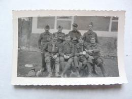 PHOTO- SCENE ANIMEE : STALAG XVIIIA  - De FILLEAUX PIERRE - War, Military