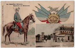 MILITARIA.14-18 VERDUN (55) DU QUARTIER BEVAUX,RECEVEZ CE SOUVENIR. HONNEUR Et PATRIE. - Guerra 1914-18