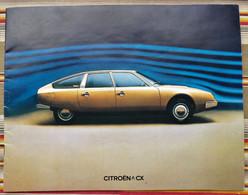 55 VERDUN Catalogue CITROEN CX 1974 - Publicités