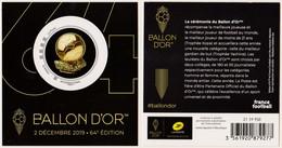 2019 - Collector BALLON D'OR Avec TP Adhésif Inbternational - Neuf** - Collectors