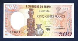 Chad Tchad 500 Francs 1987 P9b UNC - Chad