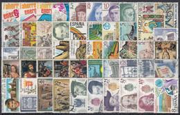 ESPAÑA 1979 Nº 2508/2557 AÑO COMPLETO USADO 50 SELLOS - 1991-00 Usati