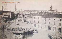 Cartolina - Cremona - Piazzale Porta Po - 1926 - Cremona