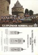 CARTE CYCLISME GROUPE TEAM SPLENDOR 2ª SERIE 1980 - Radsport