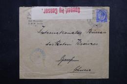AFRIQUE DU SUD - Enveloppe De Cape Town Pour La Croix Rouge à Genève En 1916 Avec Contrôle Postal - L 72837 - Storia Postale