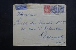 KENYA ET OUGANDA - Enveloppe De Mombasa Pour La France En 1932 Par Avion - L 72839 - Kenya & Uganda