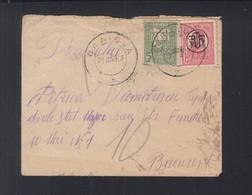 Rumänien Romania Brief 1919 Craiova Nach Bucurest Nachporto - 1918-1948 Ferdinand, Charles II & Michael
