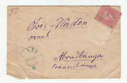 Romania Letter Cover Posted 1885 Calafat To Abrudbanya (Rudabánya) B201001 - Cartas