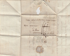 LETTRE. 28 PLUVIOSE AN 8. TRIBUNAL RIOM PUY-DE-DOME TAXE PLUME 10    / 2 - 1801-1848: Vorläufer XIX