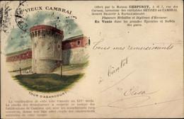 CPA Cambrai Nord, Tour D'Abancourt, Maison Despinoy - Sonstige Gemeinden