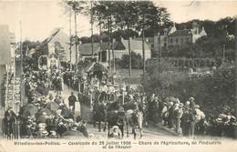 VILLEDIEU LES POELES LA GRANDE CAVALCADE 1906 - Villedieu