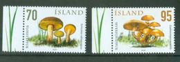 Iceland 2006; Mushrooms, Michel 1144-1145.** (MNH) - Nuovi