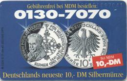 Pièce Commémorative 10 Mark (Recto-Verso) 1992 - Postzegels & Munten