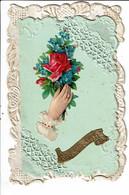 CPA Carte Postale Qui S'ouvre France-Souvenir D'amitié:Je T'envoie Ma Chérie Une Mignonne Rose .... -VM22614 - Other
