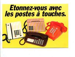 LES TELEPHONES DES P T T - Postal Services