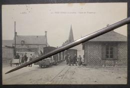 14 - Trévières - CPA - Gare Du Tramway - Belle Animation  A+D N° 10 - RARE - B.E - - Andere Gemeenten