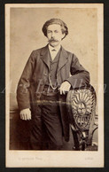 Photo-carte De Visite / CDV / 2 Scans / Homme / Man / Photographe / G. Antony / Liège / Liége - Oud (voor 1900)