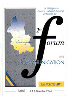 LA POSTE 1 ER FORUM DE LA COMMUNICATION PARIS1994 - Other