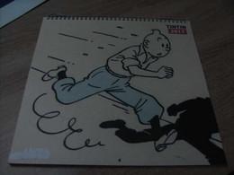 Tintin Calendrier Moulinsart 2017 - Tintin