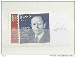 1983 MNH Iceland, Island, Mi 610-1, Postfris - Ongebruikt