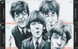 CHINA. PUZZLE COMPLETO 4 TARJETAS. THE BEATLES. (1782) - Music