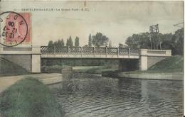 -- 59 -- CANTELEU-lez-LILLE - Le Grand Pont 1905 Colorisé - Lille