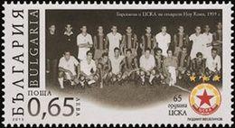 BULGARIE 65ans Club Football Zska 1v 2013 Neuf ** MNH - Nuovi