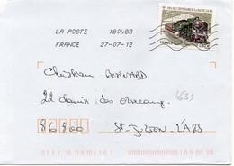 N° 4655 Y. Et T. Oblitération Toshiba TSC 1000 18048A (Montaigu St Hilaire Loulay) Flamme Muette Du 27/07/2012 - 1961-....